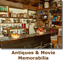 Props, antiques and movie memorabilia