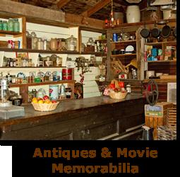 Props, antiques and movie memorabilia