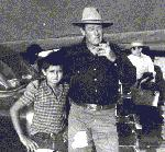 Jay Gammons with John Wayne