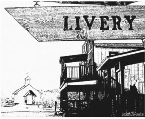 western town the livery